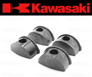 Set of (4) Cylinder Head Plug Seal Kawasaki (PLUG, CAM SHAFT) #92066-1111