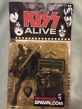 """GENE SIMMONS KISS Alive Super Stage Action Figure 7"""" McFarland Toys 2000"""