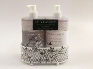 Laura Ashley Blossoming Shea Butter Hand Care Duo Lavender Sage G077