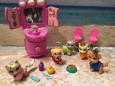 POLLY POCKET PET SALON ACCESSORIES PETS DOGS PUPPIES CATS KITTENS
