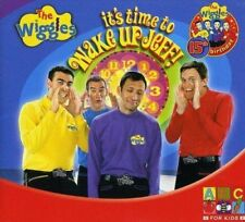 THE WIGGLES It's Time To Wake Up Jeff! CD BRAND NEW