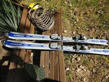 Elan X-Carve 3.0 142cm Skis- Marker M1000 Bindings- Silver Blue