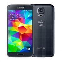 "Noir 5.1"" Samsung Galaxy S5 G900V 4G LTE 16GB 16MP GPS NFC Débloqué Téléphone"