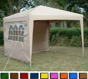 Faltpavillon 3x4m Pavillon Klappzelt Zelt Gartenzelt Popup Wasserdicht + Tasche