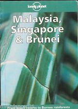 MALAYSIA, SINGAPORE & BRUNEI  Lonely Planet ~ SC