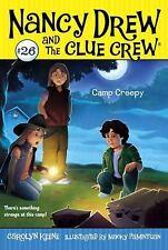 Camp Creepy (Nancy Drew and the Clue Crew)-ExLibrary