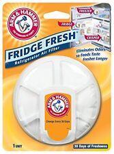 Arm & Hammer 33200-01710 Baking Soda Fridge Fresh Air Filter, 0.28 oz (Pack of 8