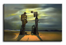 Large Wall Art Canvas Picture Print of Salvador Dali Virtual Reality Framed