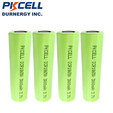 4 ICR 18650 3000mAh Lithium Rechargeable Vape Battery 3.7V Flat Top