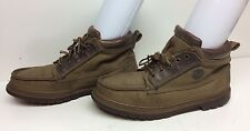 MENS TIMBERLAND MOCCASIN GREENISH SHOES SIZE 12 M