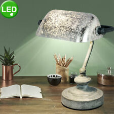 Retro LED Working Room Table Lighting Banker Reading Light Stand Stand Lamp