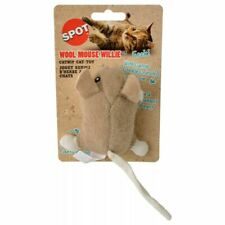 New listing Spot 52084 Wool Mouse Willie Catnip Toy - Assorted Colors