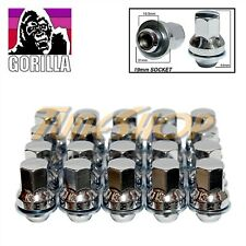 20 GORILLA JAGUAR 12x1.5 OEM OE STOCK FACTORY WHEELS RIMS MAG LUG NUTS CHROME