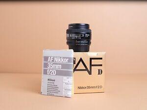Nikon 35mm f/2 D Lens (Boxed, Excellent Condition!)