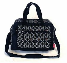 Large Black Egg Polka Dots Baby Nappy Diaper Changing Bags Bag Mat 9072