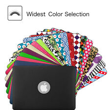 PU Leather Hard Shell Case Cover for Apple MacBook Pro 13 Retina A1502 / A1425