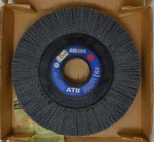 """Osborn Brush 40540 10"""" Wheel 80 Grit Abrasive Brush 2"""" Arbor Hole 1"""" Face Width"""