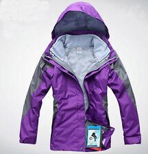 Women Lady 10k Purple Ski Snow Snowboard Winter Waterproof  Jacket 6 8 10 12 14