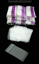 1000 Silver Guard Reclosable Anti Tarnish Bags 2X3 Inch Wholesale Lot