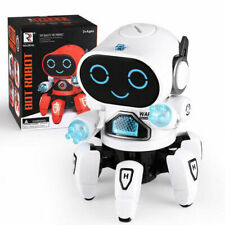 Electric Robot Toys For Kids Cool Robot LED Lighting Dancing Cool Xmas Toy Gift