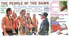 COVERSCAPE computer designed Wampanoag First Thanksgiving 390th event cover