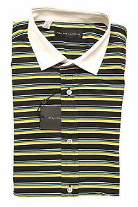 Ralph Lauren Black Label Striped Dress Shirt New $325