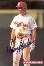 1994 Philadelphia Phillies Club-Issued Card Autographed by Kevin Stocker