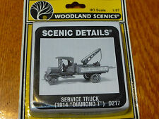 Woodland Scenics HO #217  -  Service Truck (1914 Diamon