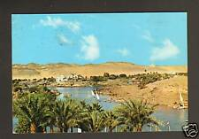 ASSWAN (EGYPTE) HOTEL AMON & REGATES sur le NIL en 1978