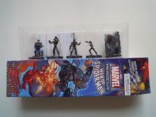 Marvel heroclix lotto 5 supereroi lot 5 figurine 5 7 27 28 43 web of spiderman