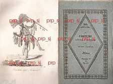 COSTUME ANTICO MODERNO AFRICA 36 ASHANTI AJAN INCISIONE 1830