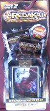 Redakai Conquer the Kairu X-Reader Starter Pack 22 Blast TCG 3D cards 1 set NEW
