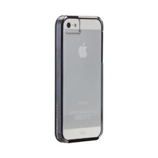 Case-Mate Apple iPhone 5/5S Naked Tough Case (Clear with Black Bumper)