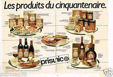 Publicité advertising 1982 (2 pages) Les Produits Prisunic