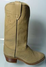 Western Celebrity Autographed Boot - Over 20 Authentic Autographs - 1986