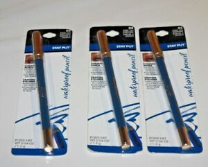 Milani Stay Put Waterproof Eye Liner Pencil #05 Keep On Sapphire Lot Of 3 In Box
