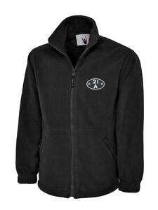 Fleece Jacket embroidered with BR British Railways shed plate code