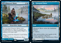 Glasspool Mimic // Glasspool Shore x4 Magic the Gathering 4x Zendikar Rising mtg