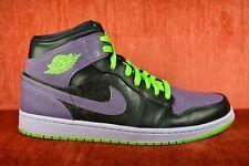 fcef48da09c6 WORN TWICE Nike Air Jordan 1 Joker Green Purple Size 11 136065 021 XI
