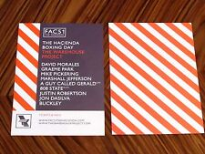 2014 Hacienda Manchester Warehouse Project Carded Flyer David Morales FAC51