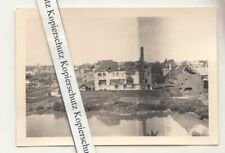 Foto Zerstörung nach Mechelen Belgien 2 Wk WW2 !