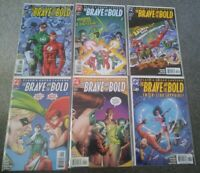 DC The Brave And The Bold #1-#6 Full Run 1999 MINT CONDITION BAGGED & BOARDED