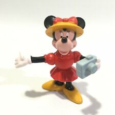 Disney Japan Vintage Mickey & Minnie Mouse Mini Figure Toy