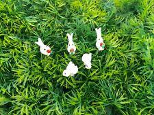 5 Tiny Two Design Rabbit Miniature Dollhouse Fairy Garden Accessories Terrarium