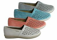 NEW PLANET SHOES TANGY WOMENS LEATHER SUPPORTIVE COMFORT FLAT CASUAL SHOES