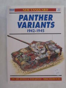 Osprey - Panther Variants 1942-1945 (New Vanguard 22)
