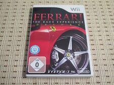 Ferrari The Race Experience Deluxe para Nintendo Wii y Wii U * embalaje original *