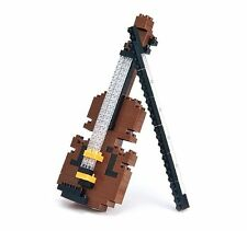 Nanoblock Build Your Own Violin construction set Ideal Stocking Filler