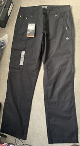 Mens Black Craghoppers Traverse Solar Shield Smart Dry Trousers - 32R - New