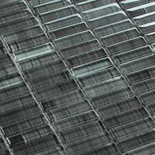 Glasmosaik Fliesen Mosaik Stick Schwarz 15 x 48 x 6 mm